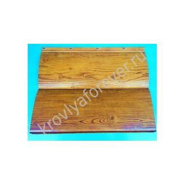 Металлический блок-хаус Гранд Лайн Colority® Print под дерево