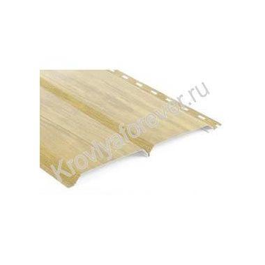 Металлический сайдинг L-брус Металл-профиль ECOSTEEL® под дерево
