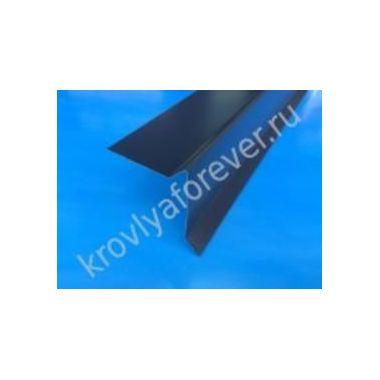 Ветровая планка фигурная (торцевая) 70х90х2000
