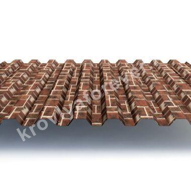 Профнастил С21х1000-А, В ECOSTEEL® 0,5мм