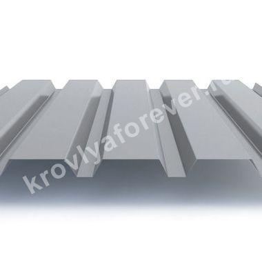Профнастил С44х1000 Цинк 0,45- 0,8мм