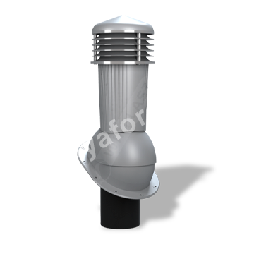 Вентиляционный выход D 125/110 не изолированный Wirplast К-88
