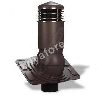 Вентиляционный выход D 125/110 изолированный Wirplast WiroVent EVO  Е 18 (К-92)
