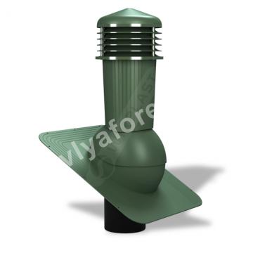 Вентиляционный выход D 125/110 не утепленный WirplastWiroVent EVO   Е01 (К-80)