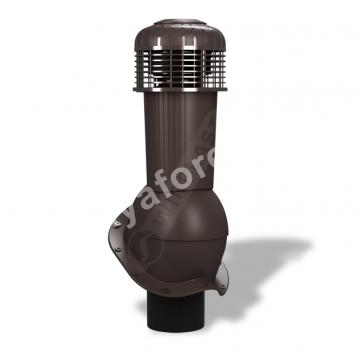Вентиляционный выход D 125/110 не утепленный с вентилятором Wirplast К-96