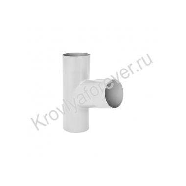 Тройник трубы металлический Аквасистем 150/100 и 125/90