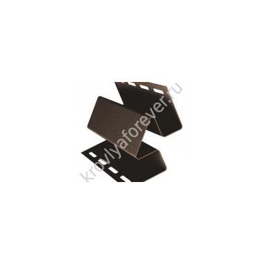 Угол внутренний коричневый 3м 420 руб./шт.