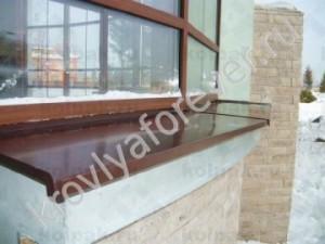Металлические отливы на окна